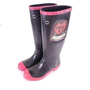Coach Poppy Roxane Tall Rain Boots